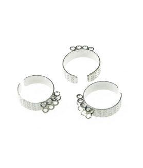 Метална основа 2 реда за пръстен