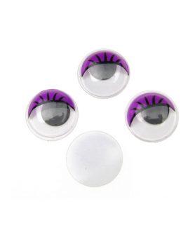 Очички мърдащи с мигли за декорация 15 mm