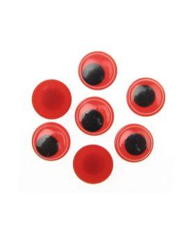 Очички мърдащи за декорация 12 mm