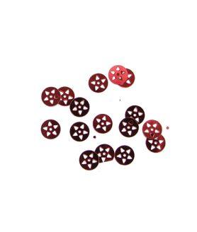 Пайети със звезда за декорация 8 mm