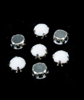 Камъни за пришиване с метална основа 8 mm