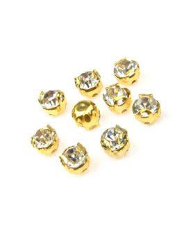 Камъни за пришиване с метална основа 4.5 mm