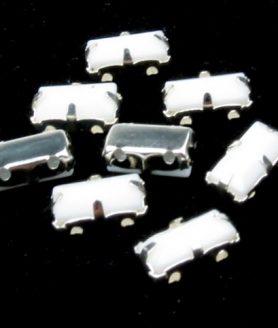 Камъни за пришиване с метална основа 6 x 11 mm
