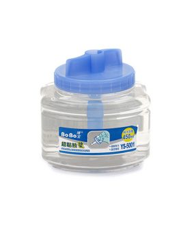 Еднокомпонентно силиконово прозрачно лепило 450 ml