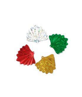 Пайети - висулки за декорация 20 х 19 mm Асорте