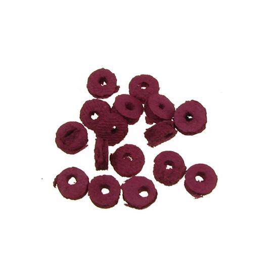 Кожени шайби за бижута 6 х 2 mm