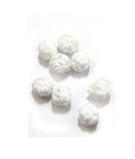 Пластмасови мъниста роза 12 x 12 mm