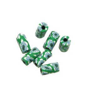 Мъниста тип цилиндър от моделин 5 x 10 mm
