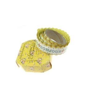 Хартиена залепваща лента за декорация 20 mm