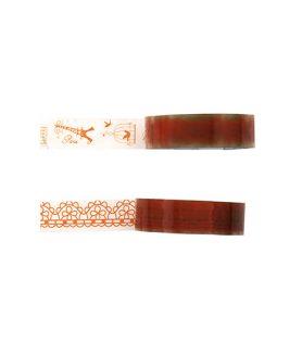 Залепваща лента на фигурки за декорация 15 mm АСОРТЕ