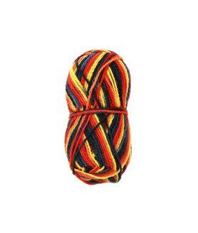 Вълнена прежда за изработка на дрехи и аксесоари - микс цветове 100 g