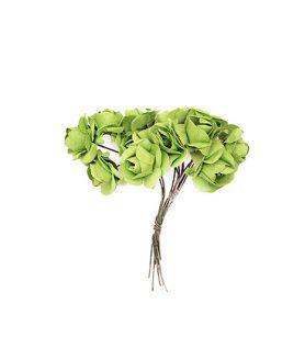 Букет хартиени рози за декорация 20 x 80 mm
