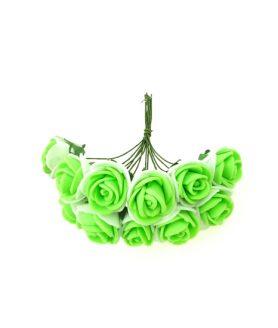 Букет гумени цветя за декорация 25 mm