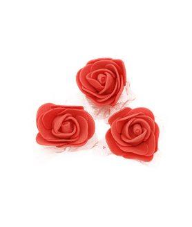 Гумени рози за декорация 35 mm