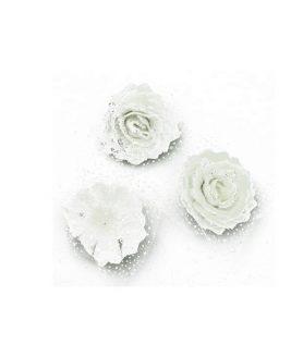 Гумени рози за декорация 65 mm