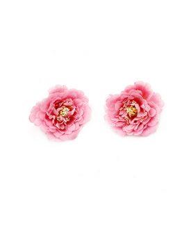 Цветя за декорация с пънче /за монтиране/ 75 mm