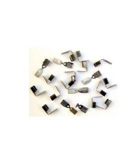 Метален двоен накрайник за бижута 6 х 10 mm