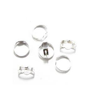 Метална основа за пръстен 18 mm
