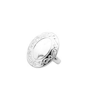 Метален овален пръстен 16 mm