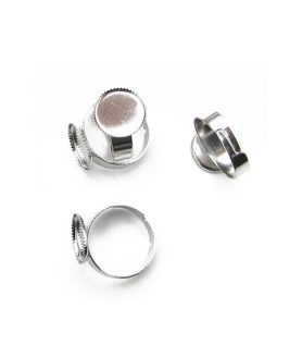 Метална основа за пръстен 17 mm
