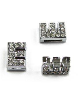 Метални елементи за пронизване с буквичка 8 mm