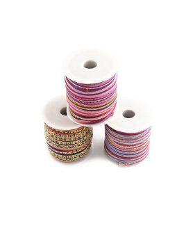 Текстилен шнур 6~7 mm АСОРТЕ