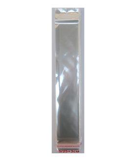 Щендерно пликче от целофан със залепване 5/25+3 cm