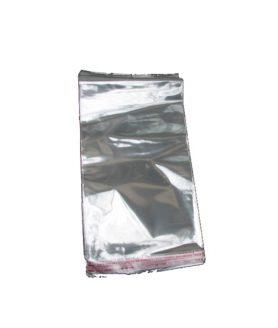 Щендерно пликче от целофан със залепване 20/30+3 cm