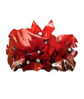 Панделка за декорация с перла 18 mm