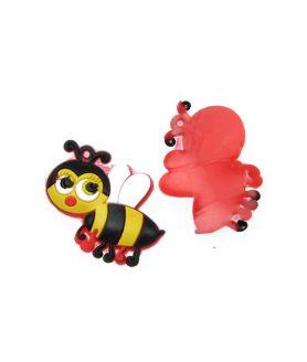 Пчеличка гумена фигура за декорация 18 x 22 mm