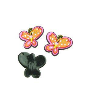 Пеперуда гумена фигура за декорация 45 x 50 x 3 mm