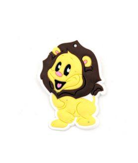 Лъв гумена фигура за декорация 55 x 40 x 3 mm