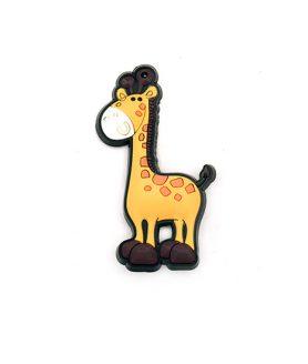 Жираф гумена фигура за декорация 70 x 25 x 3 mm