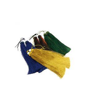 Текстилен пискюл за декорация 190 mm АСОРТЕ
