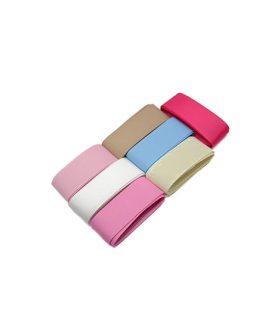 Комплект сатенени ленти 9 mm - 9 цвята