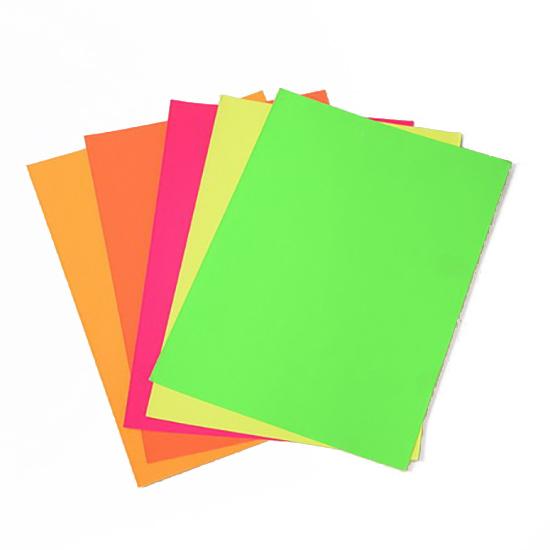 Залепващи хартиени листи A4 21x29.7 cm АСОРТЕ