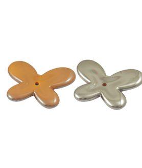 Пластмасови мъниста с покритие UV 33 x 44 x 5 mm