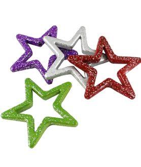 Пластмасови мъниста звезда  49 x 48 x 6 mm