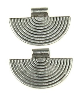 Метална висулка 23x34 mm