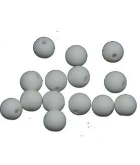 Матирани пластмасови мъниста 8 mm