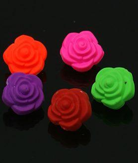 Пластмасови мъниста цвете 12х9 mm