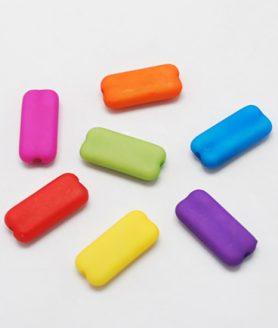 Пластмасови мъниста 16х16х8 mm