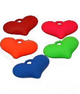 Пластмасови мъниста сърце 36.5х25х11 mm