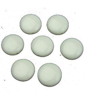 Пластмасови мъниста паричка 14х4 mm