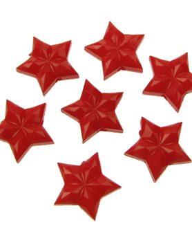Пластмасови мъниста звезда 16х17х7 mm