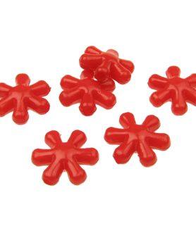 Пластмасови мъниста цвете 15х14х6 mm