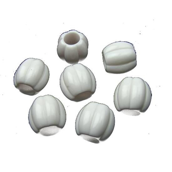 Пластмасови мъниста 10х10.5 mm