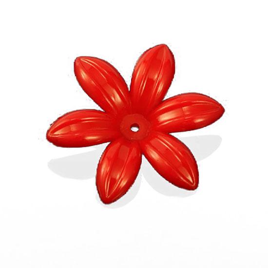 Пластмасови мъниста цвете 35х8 mm