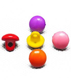 Пластмасови копчета 10х9 mm АСОРТЕ